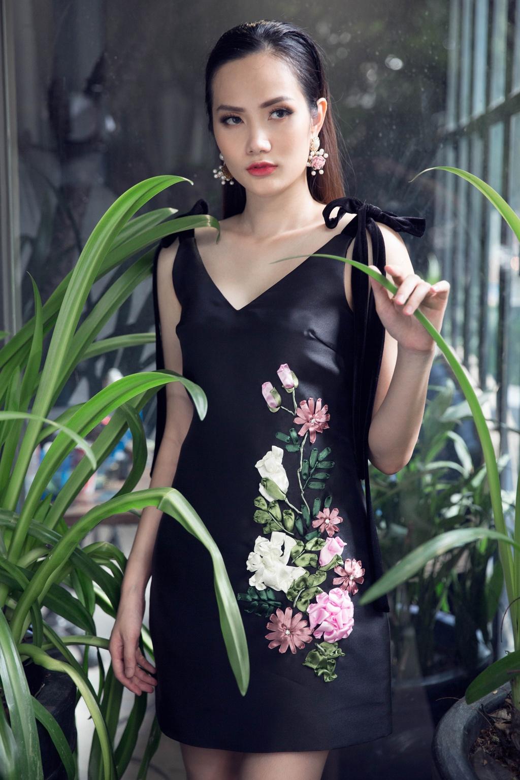 Hoa hau Dong Nam A goi y 10 bo canh dien cuoi tuan hinh anh 8