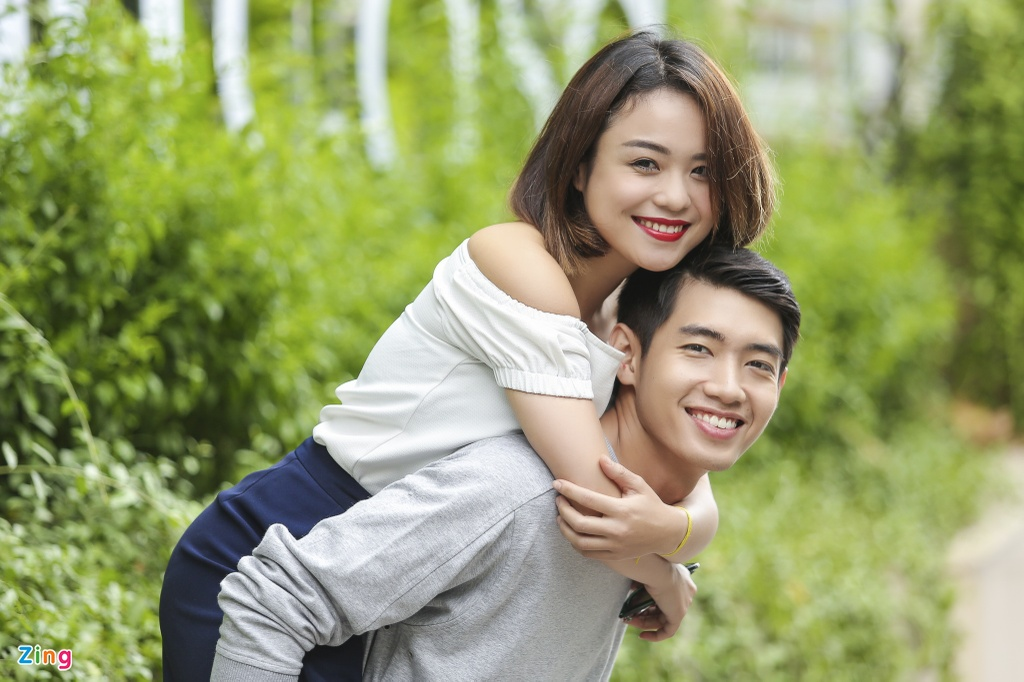Thai Trinh: 'Toi chu dong to tinh voi Quang Dang' hinh anh 1