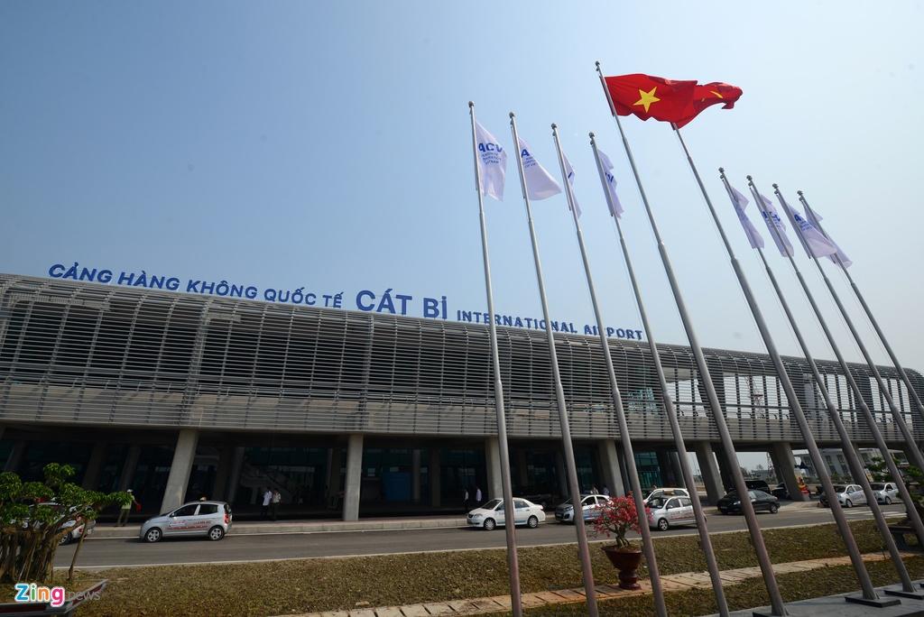 Cang hang khong quoc te Cat Bi anh 4