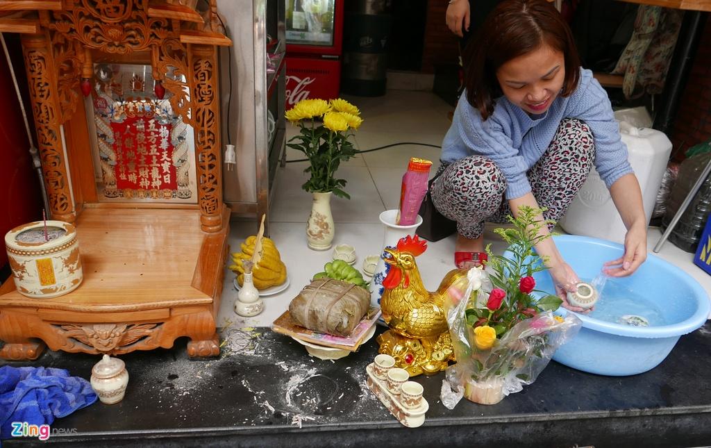 Pho phuong Ha Noi, Sai Gon chieu 30 Tet hinh anh 3