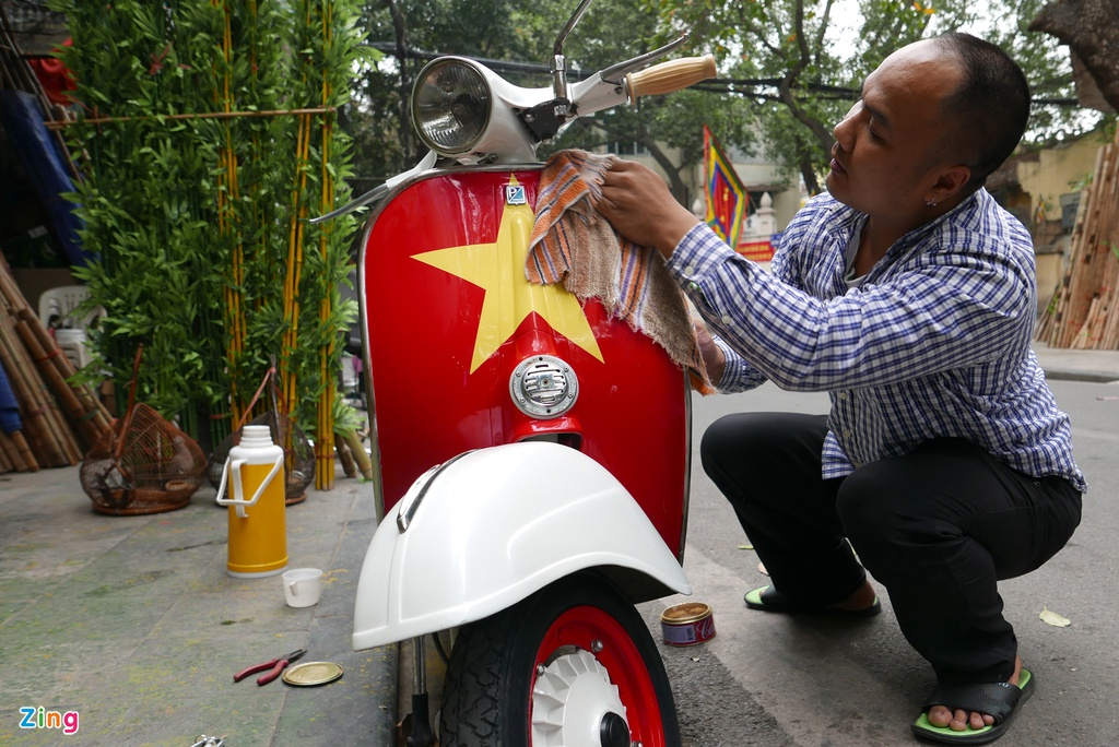 Pho phuong Ha Noi, Sai Gon chieu 30 Tet hinh anh 8