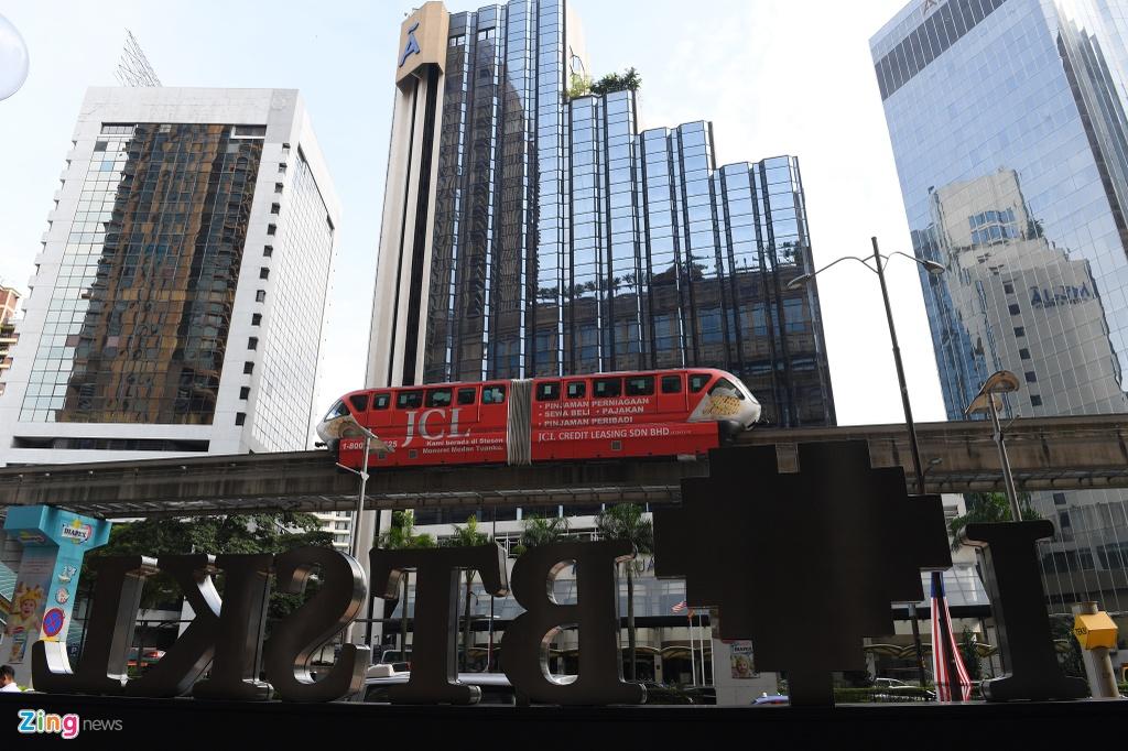 Can canh cac tuyen metro o Malaysia hinh anh 1