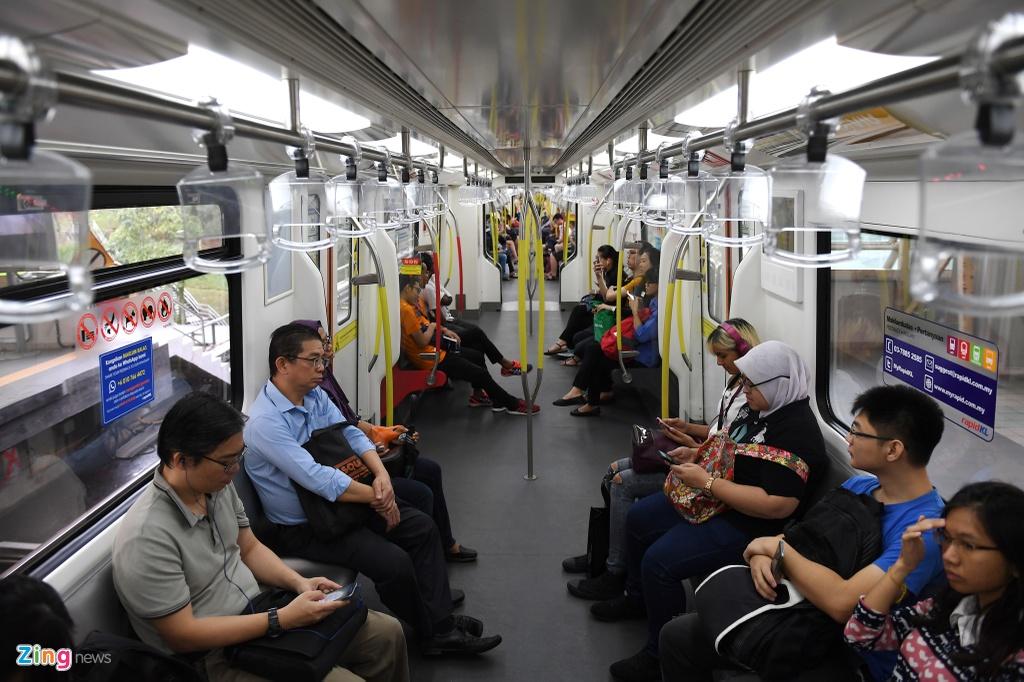 Can canh cac tuyen metro o Malaysia hinh anh 10