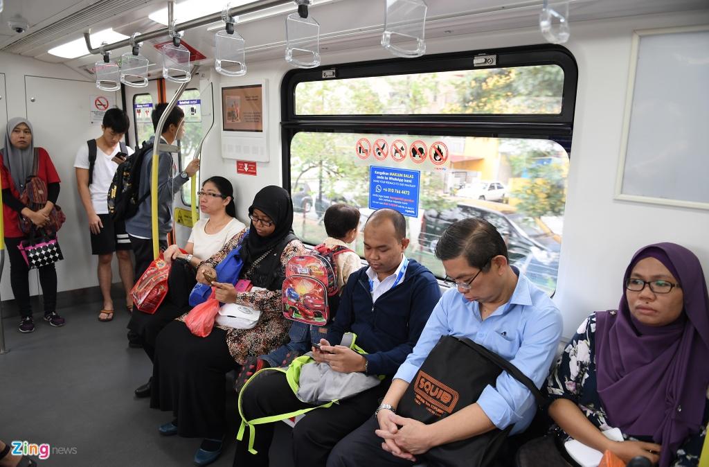 Can canh cac tuyen metro o Malaysia hinh anh 12