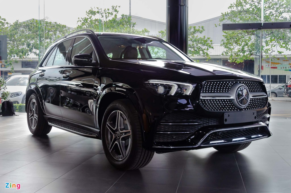 Mercedes GLE xe SUV 7 cho anh 1