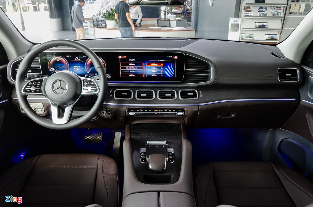 Mercedes GLE xe SUV 7 cho anh 6