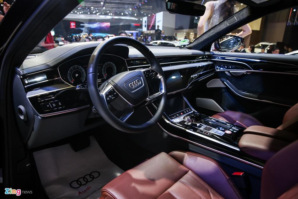 Kham pha Audi A8L 2019 - sedan dau bang canh tranh Mercede S-Class hinh anh 7