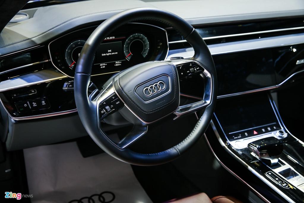 Kham pha Audi A8L 2019 - sedan dau bang canh tranh Mercede S-Class hinh anh 11