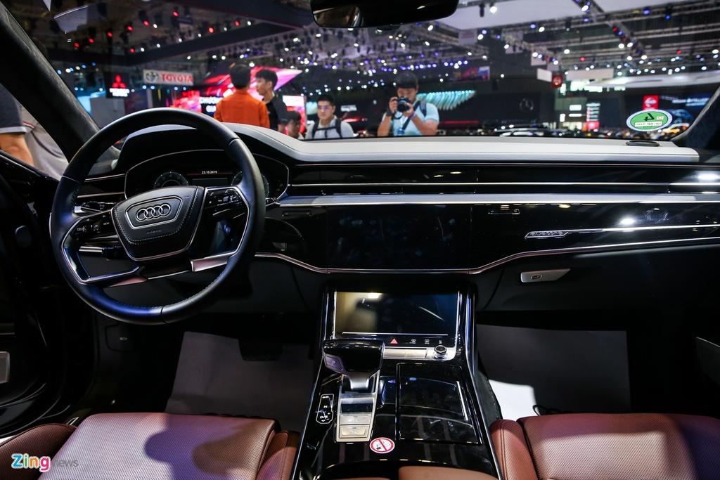 Kham pha Audi A8L 2019 - sedan dau bang canh tranh Mercede S-Class hinh anh 6