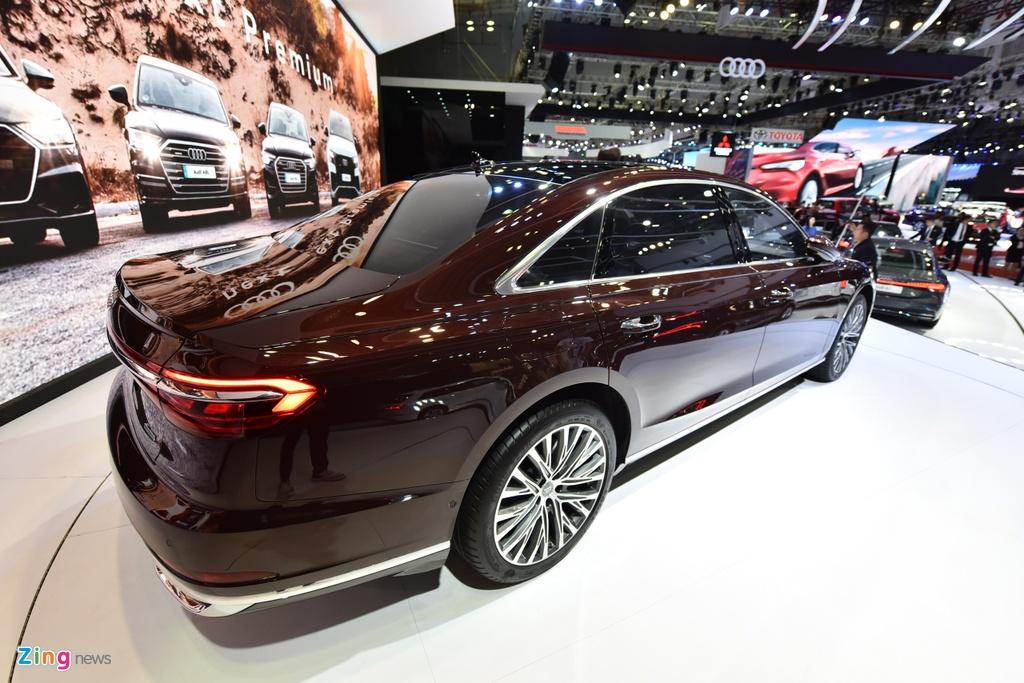 Kham pha Audi A8L 2019 - sedan dau bang canh tranh Mercede S-Class hinh anh 2