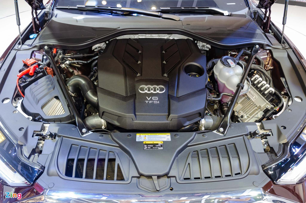 Kham pha Audi A8L 2019 - sedan dau bang canh tranh Mercede S-Class hinh anh 10