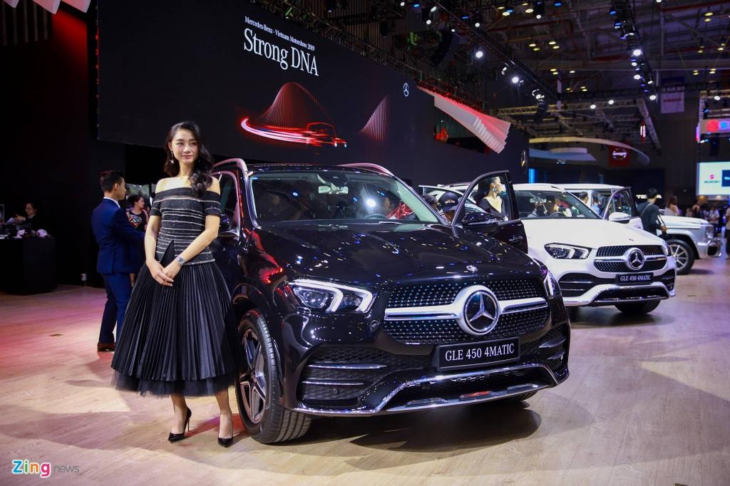 Mercedes GLE 2019 nhap tu My gia 4,369 ty tai Viet Nam hinh anh 2