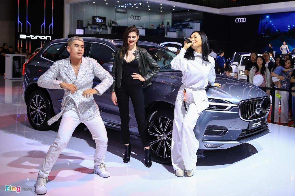 Miu Le xuat hien tai Vietnam Motor Show 2019 hinh anh 5