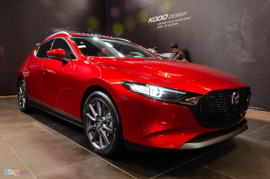 Mazda3 2020 o Viet Nam chot gia tu 719 den 939 trieu dong hinh anh 1