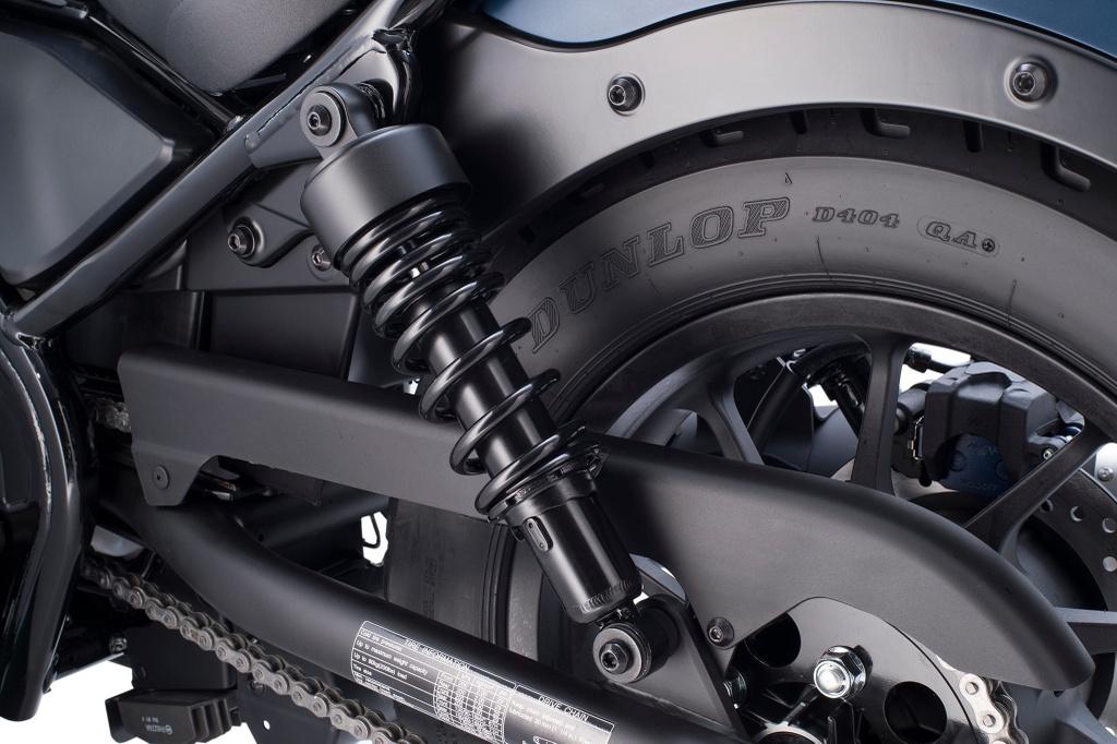 Honda Rebel 2020 ra mat, nang cap trang bi hien dai hon hinh anh 7