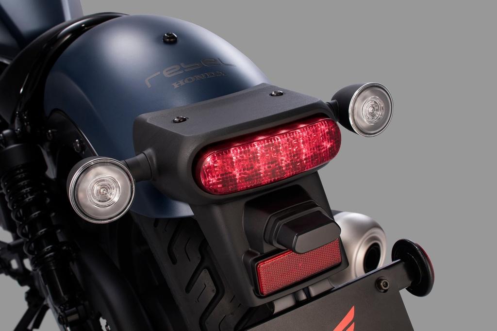 Honda Rebel 2020 ra mat, nang cap trang bi hien dai hon hinh anh 4