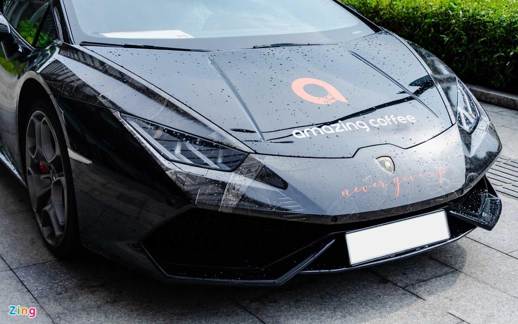 sieu xe Lamborghini Huracan anh 7
