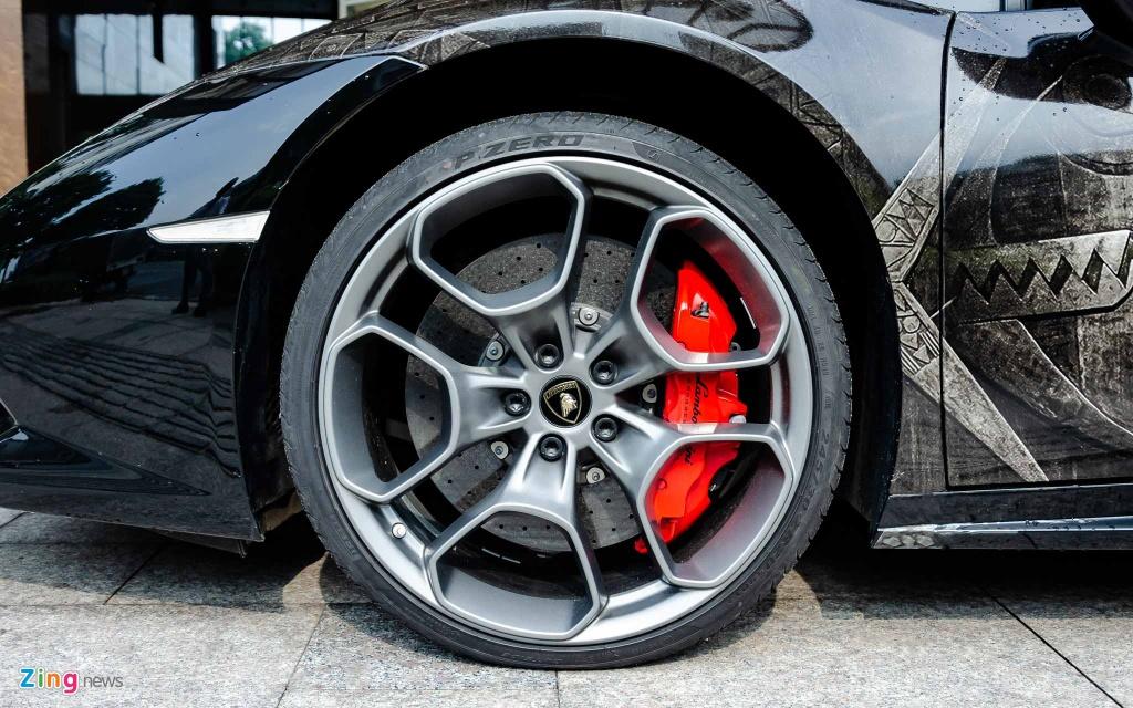 sieu xe Lamborghini Huracan anh 8