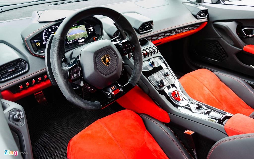 sieu xe Lamborghini Huracan anh 14