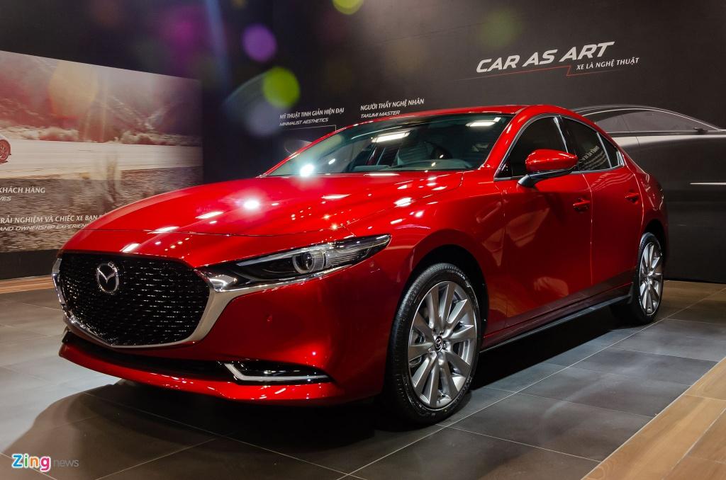 Nhung mau oto duoc trieu hoi dau nam 2020 tai VN hinh anh 2 Mazda3_sedan_2_Zing.jpg
