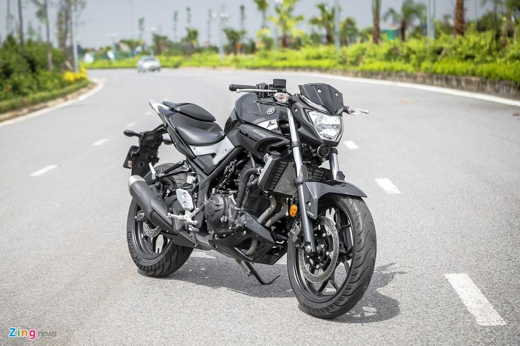 Cac mau moto gia 150 trieu phu hop cho nguoi moi choi hinh anh 5 yamaha_mt03_zing.jpg