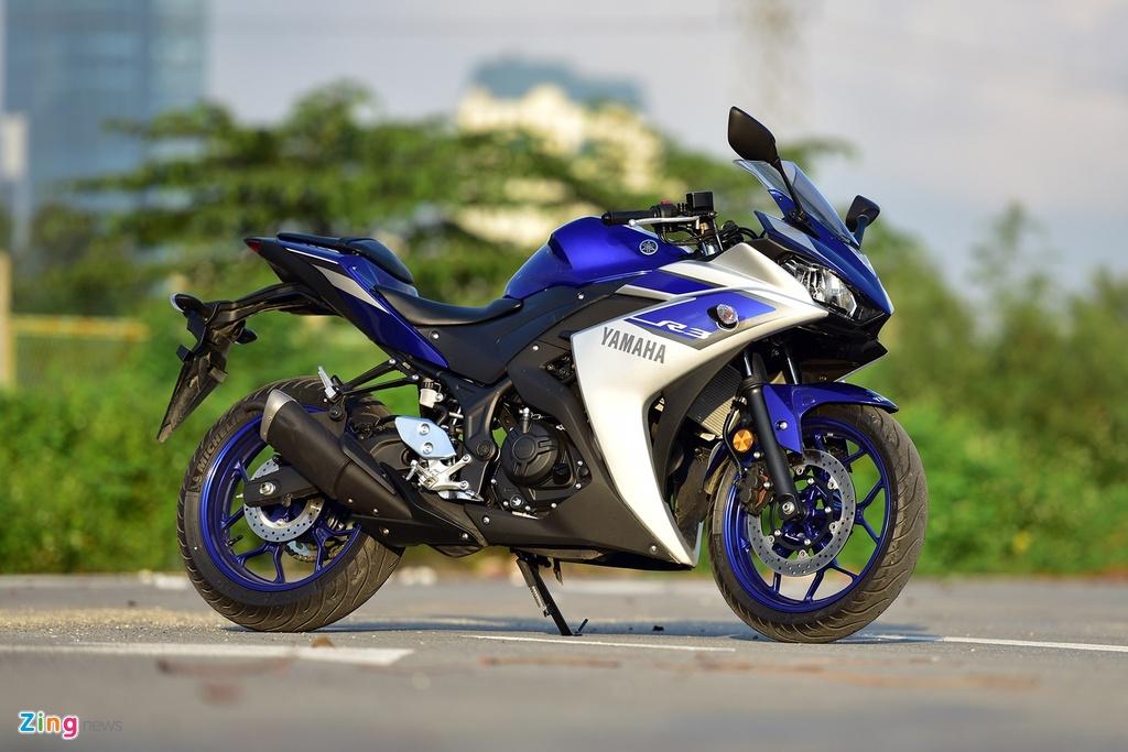 Cac mau moto gia 150 trieu phu hop cho nguoi moi choi hinh anh 1 yamaha_yzfr3_zing_1.jpg