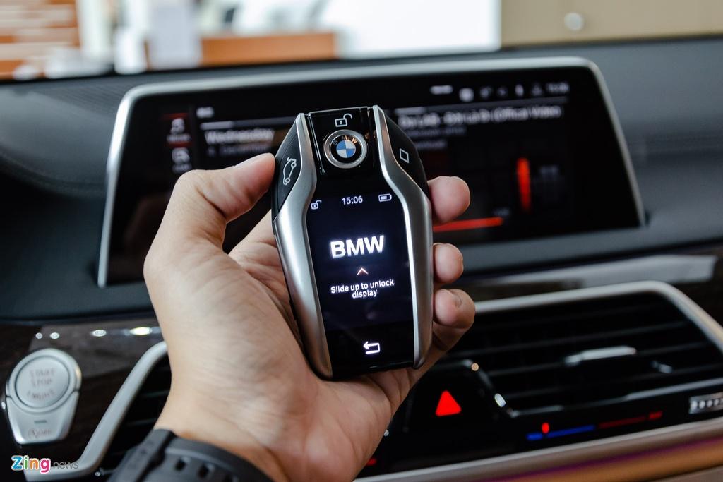 BMW 740Li 2020 gia 5,6 ty dong o Viet Nam, doi thu Mercedes S-Class hinh anh 18