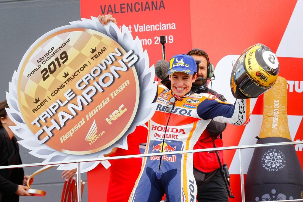 Marc Marquez thong tri MotoGP thap ky vua qua ra sao? hinh anh 2 MotoGP_2019_Marquez_2_.jpg