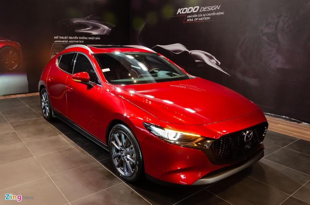 Thaco xac nhan Mazda3 2020 tai Viet Nam gap loi phanh tu dong hinh anh 1 Mazda3_hatchback_Zing_23.jpg