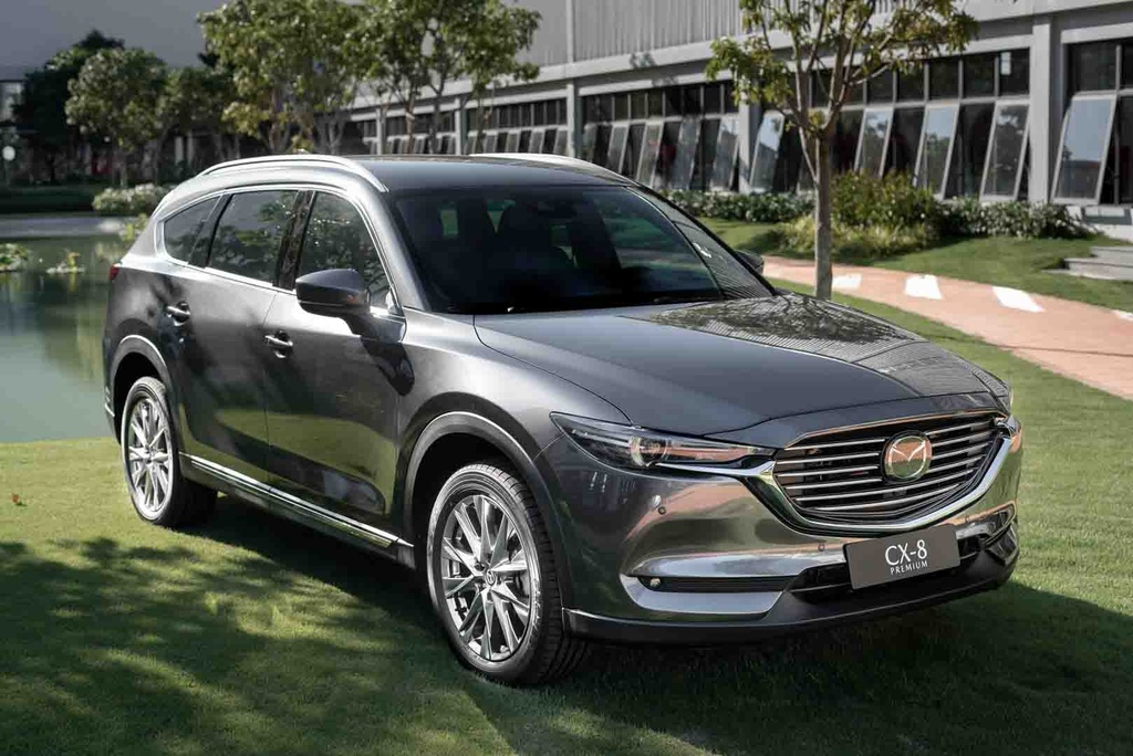 Mazda CX-8 ra mắt tại Việt Nam vào giữa năm 2019. Ảnh: Mazda.