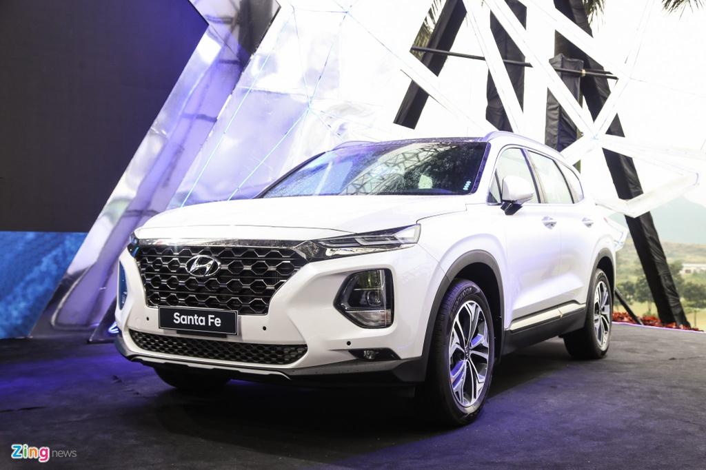 Xe crossover 7 cho thang 1/2020 - Hyundai SantaFe soan ngoi Honda CR-V hinh anh 2 SantaFe_zing.jpg