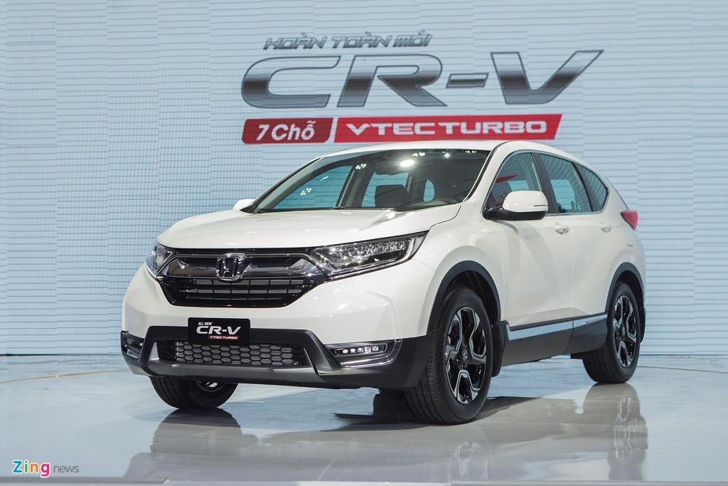 Xe crossover 7 cho thang 1/2020 - Hyundai SantaFe soan ngoi Honda CR-V hinh anh 3 crv_2018_zing_1.jpg