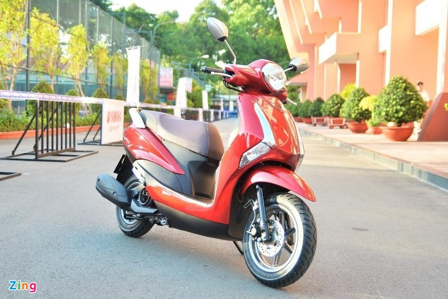 Mua xe tay ga nu voi 40 trieu - chon Yamaha Latte hay Honda Scoopy? hinh anh 1 yamaha_latte_zing_13.jpg