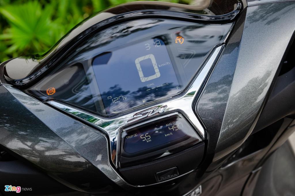 5 mau xe may tai Viet Nam co ket noi voi smartphone hinh anh 10 Honda_SH_2020_Zing_40_.jpg