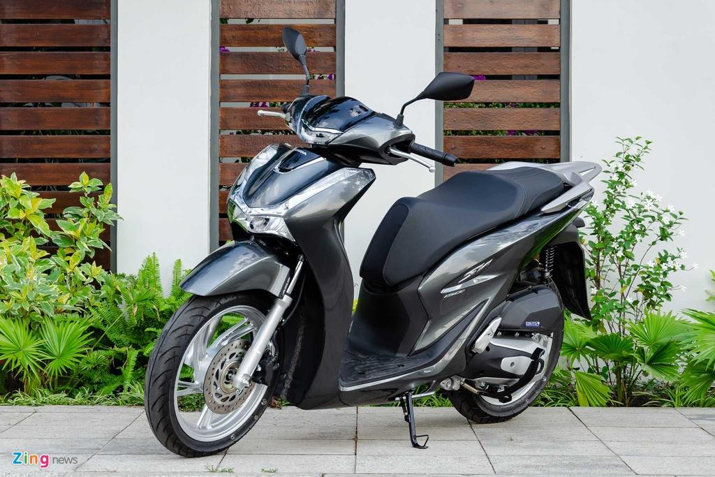 5 mau xe may tai Viet Nam co ket noi voi smartphone hinh anh 9 Honda_SH_2020_Zing_8_.jpg