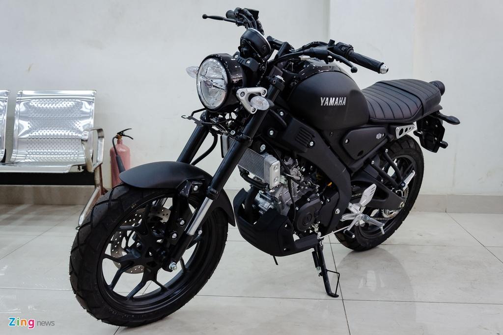 Can canh Yamaha XSR 155 tai VN - nhap tu nhan, gia hon 80 trieu hinh anh 1 Yamaha_XSR_155_Zing_1_.jpg