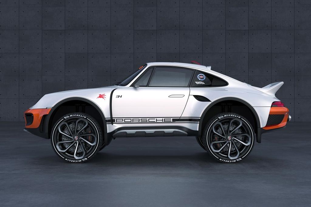 xe the thao Porsche 911 anh 8