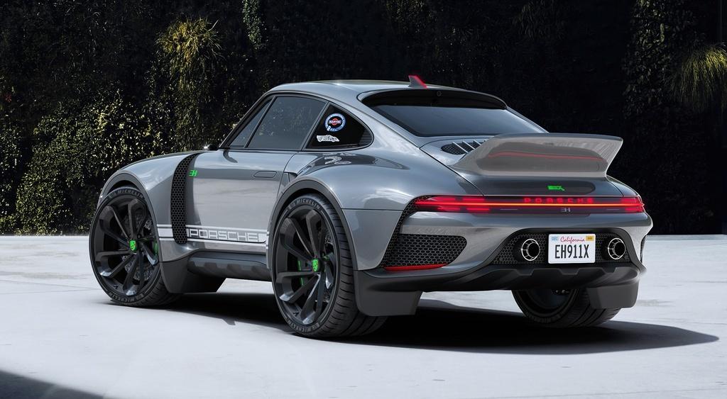 xe the thao Porsche 911 anh 6