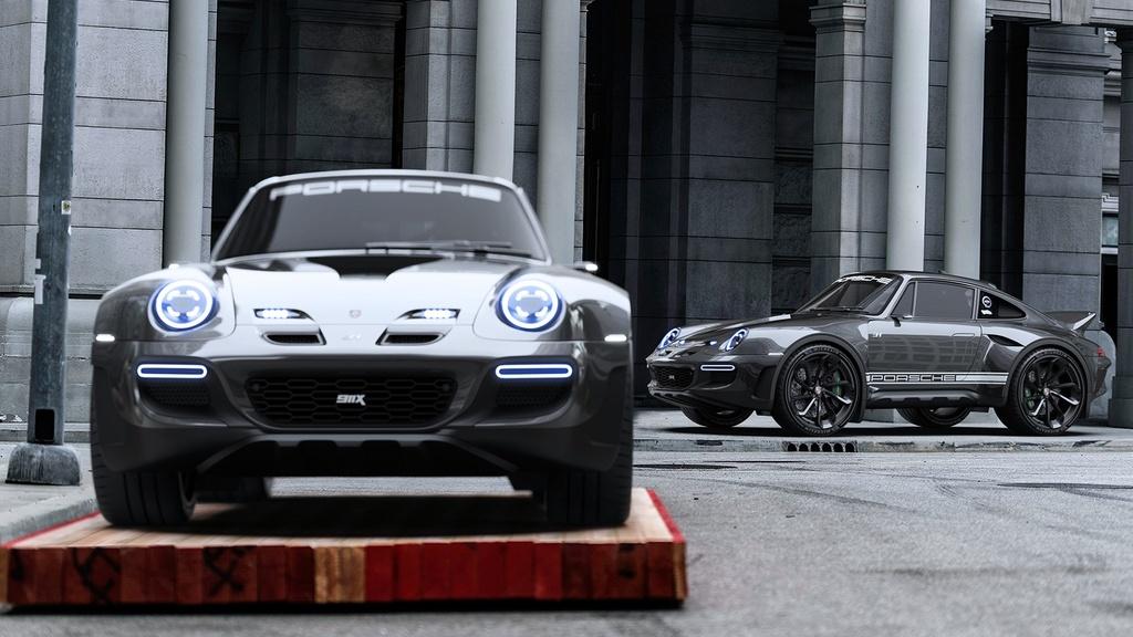 xe the thao Porsche 911 anh 4