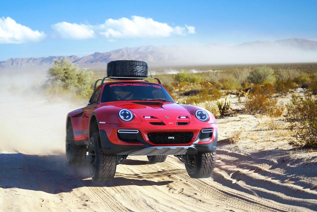 xe the thao Porsche 911 anh 1
