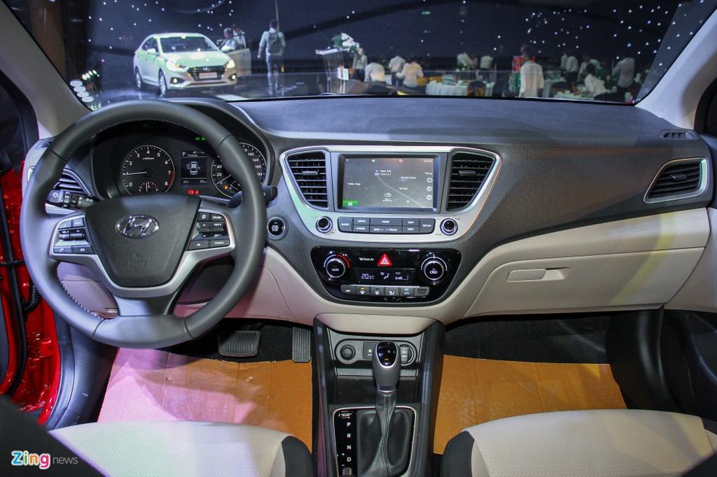 Voi 500 trieu dong chon Kia Soluto hay Hyundai Accent hinh anh 7 Hyundai_Accent_2018_Zing_11.jpg