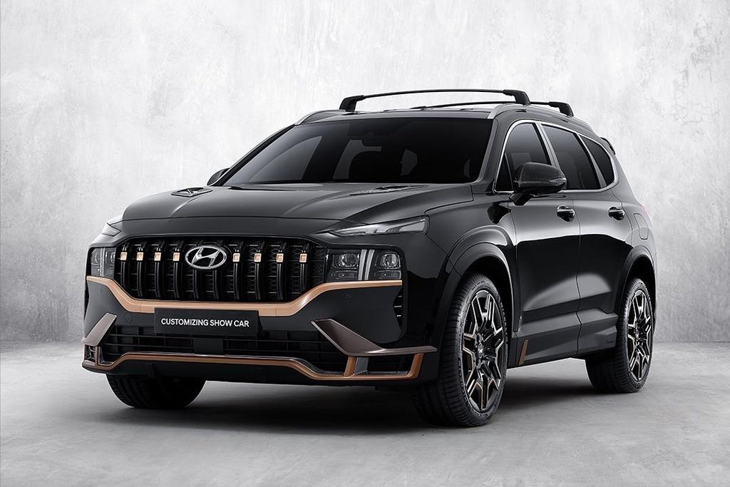 Hyundai Santa Fe 2021 anh 1