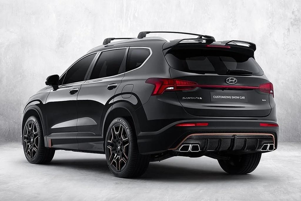 Hyundai Santa Fe 2021 anh 2