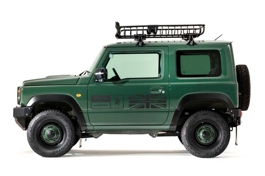 Suzuki Jimny do bodykit anh 5