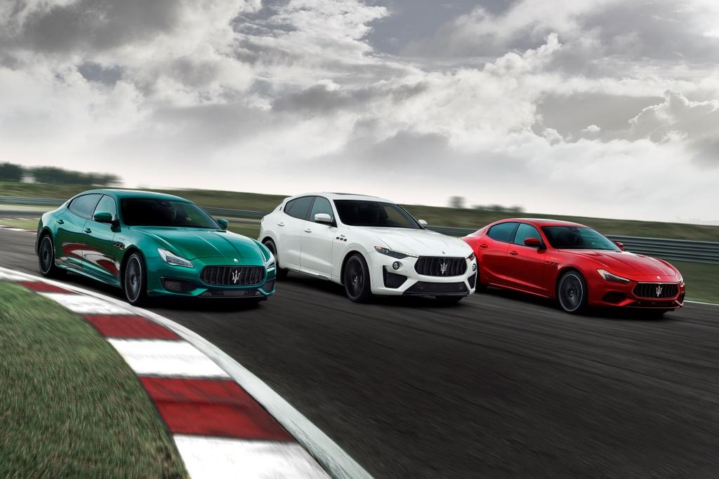 Maserati Levante Trofeo 2021 anh 1
