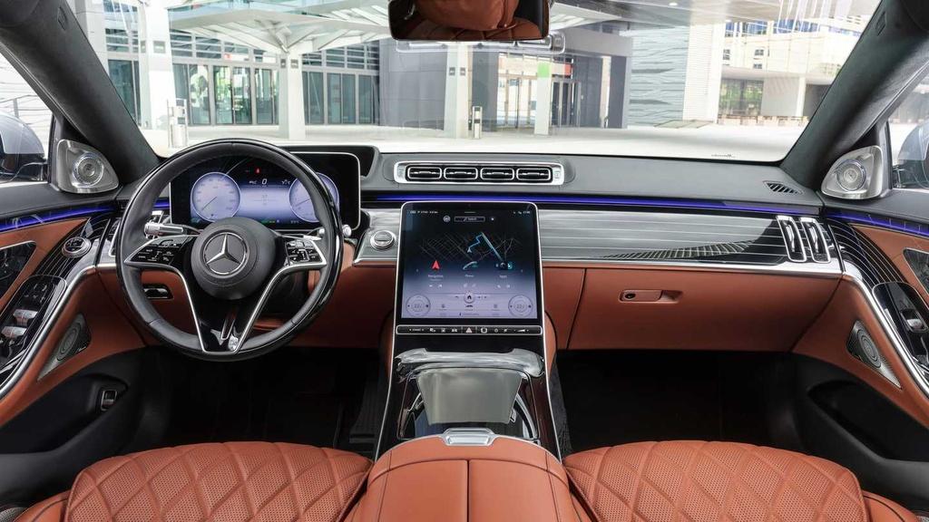 Mercedes-Benz S-Class 2021 anh 3