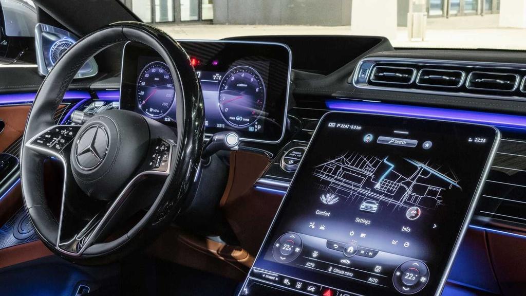 Mercedes-Benz S-Class 2021 anh 4