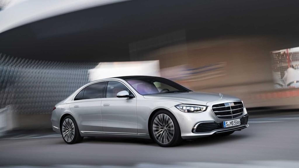 Mercedes-Benz S-Class 2021 anh 1