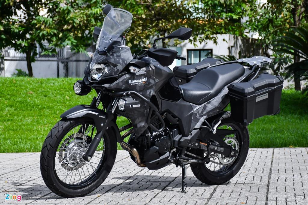 Kawasaki Versys 300 Tourer anh 1