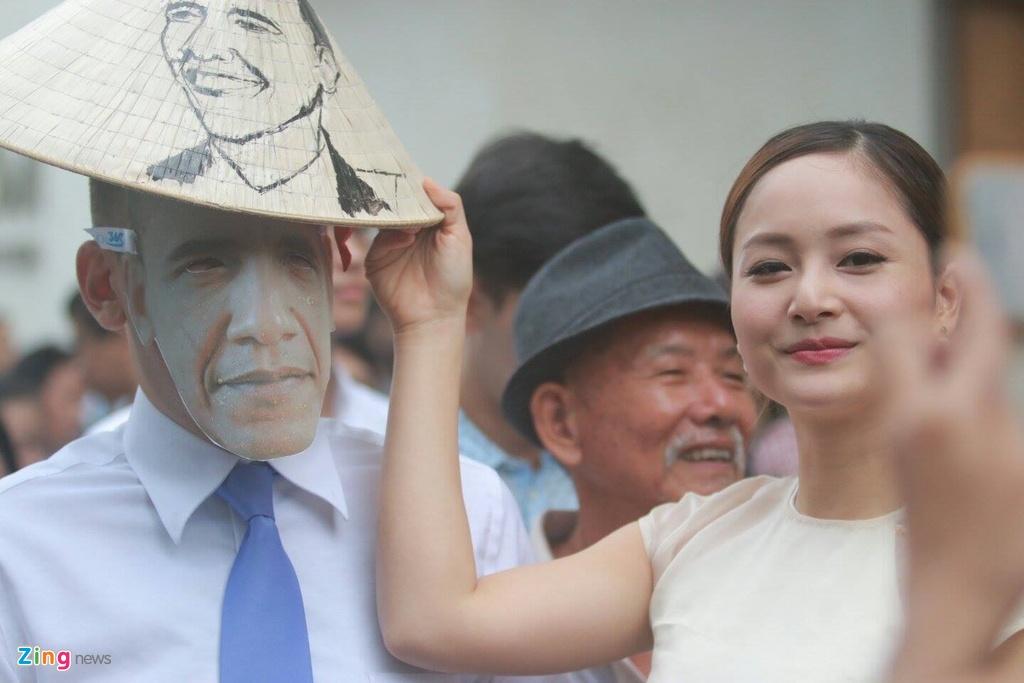 Hang tram ban tre Sai Gon xep hang tu sang som cho ong Obama hinh anh 5